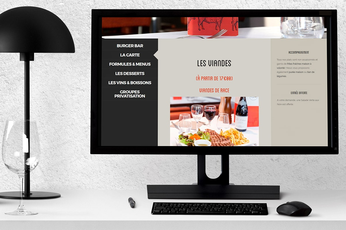 Communication Web Site Restaurant - Canefora