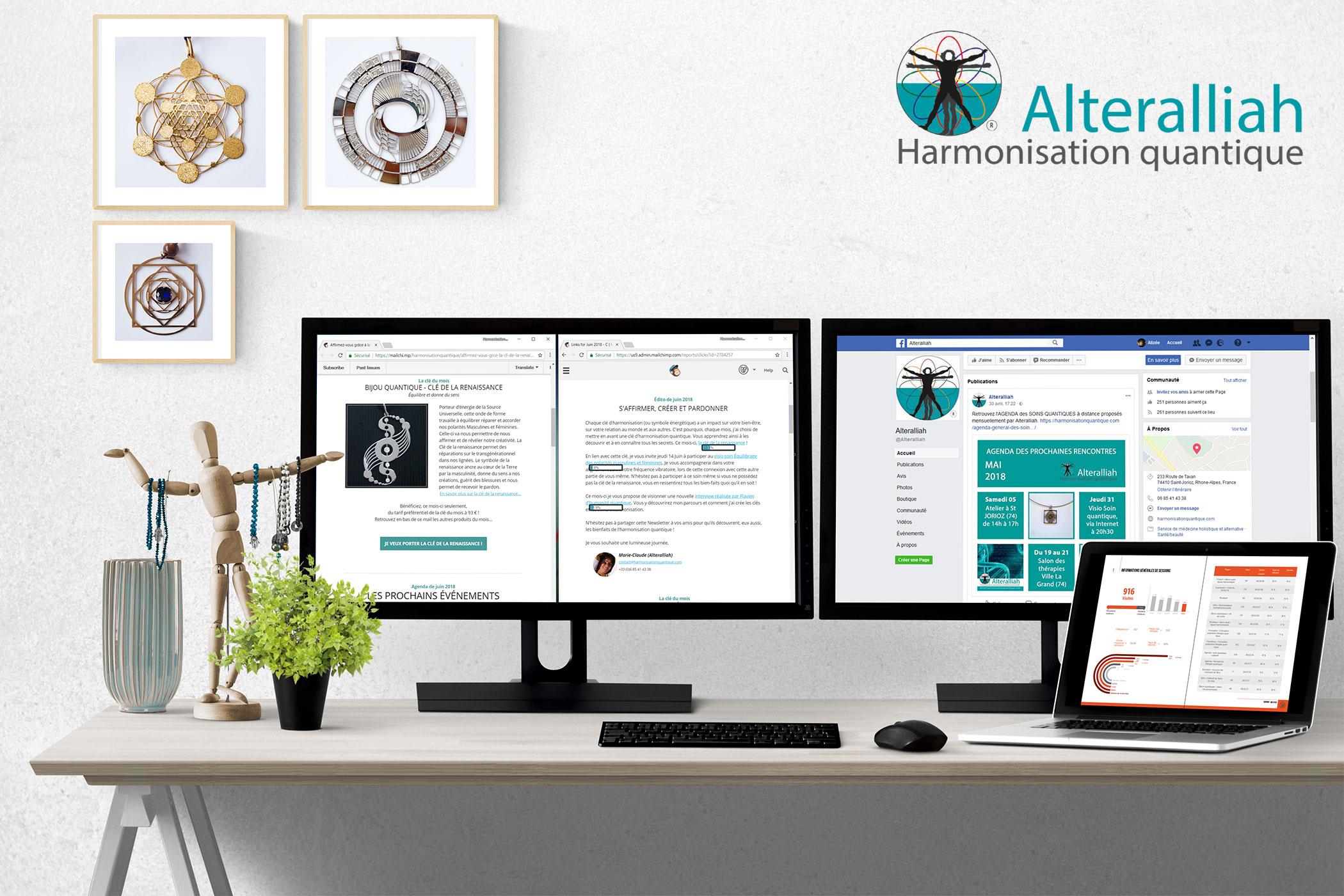 Accompagnement Web Mailing et CM pour Site Ecommerce