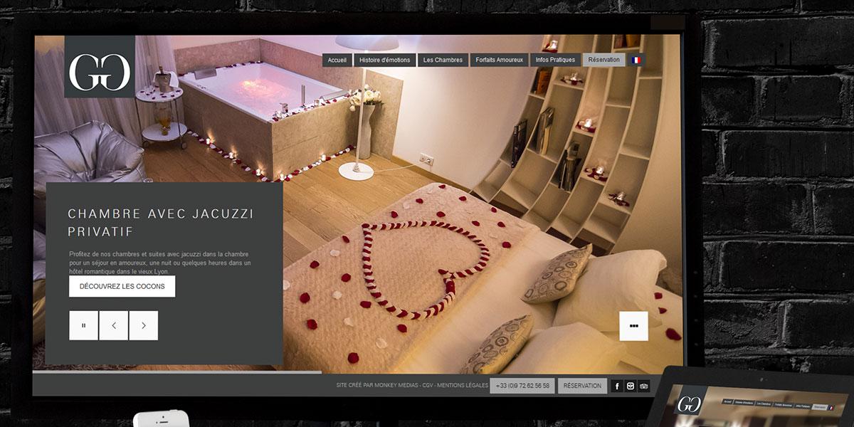 Création Site Web Hôtel