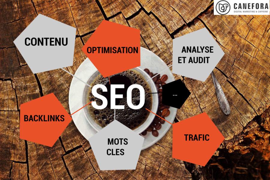 Search Engine Marketing - SEO - Référencement naturel - Référencement organique - site web - Blog Canefora - Agence de Communication Web