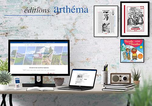 Création Site E-commerce Editeur