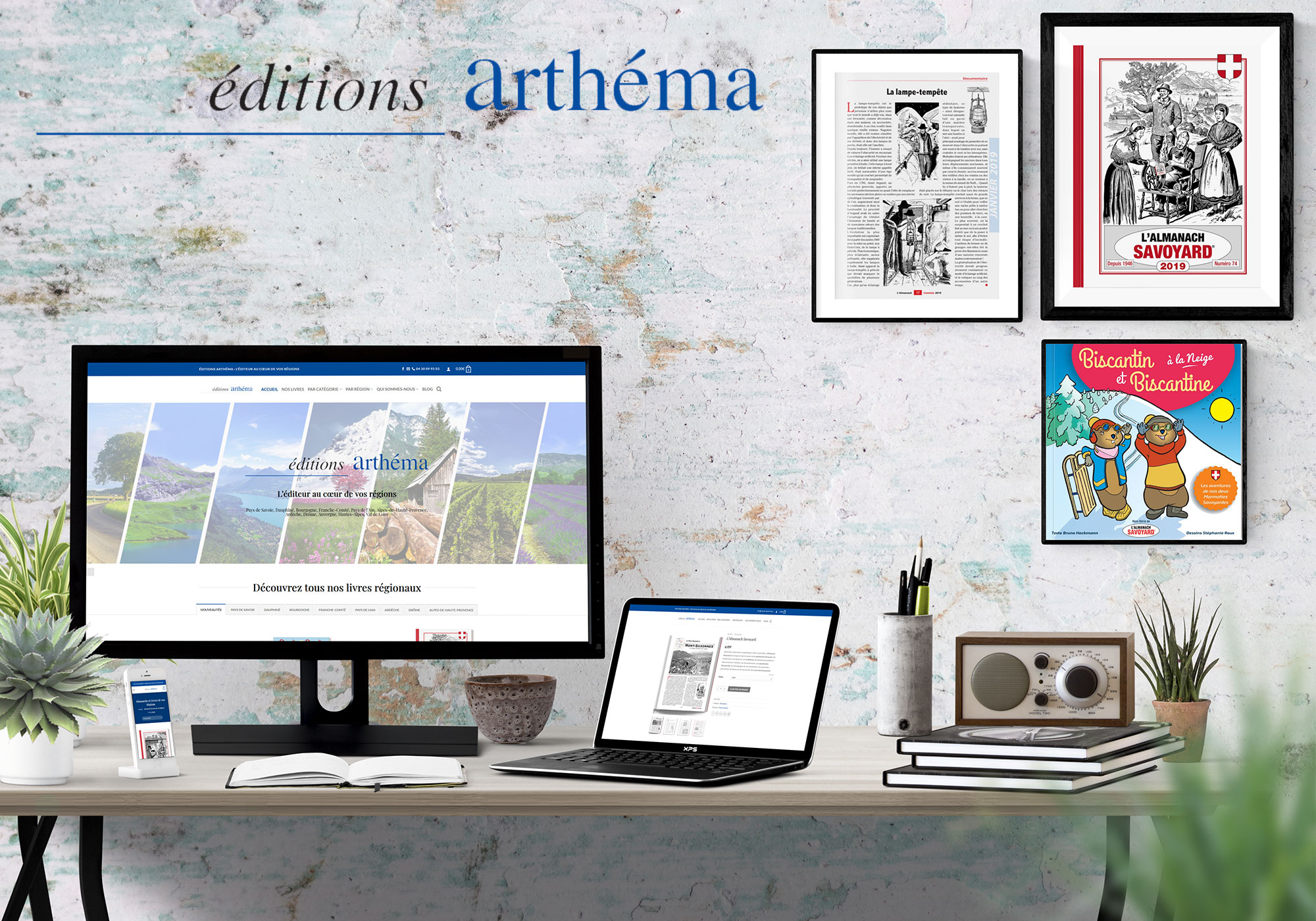 Réalisation Site E-commerce Editeur