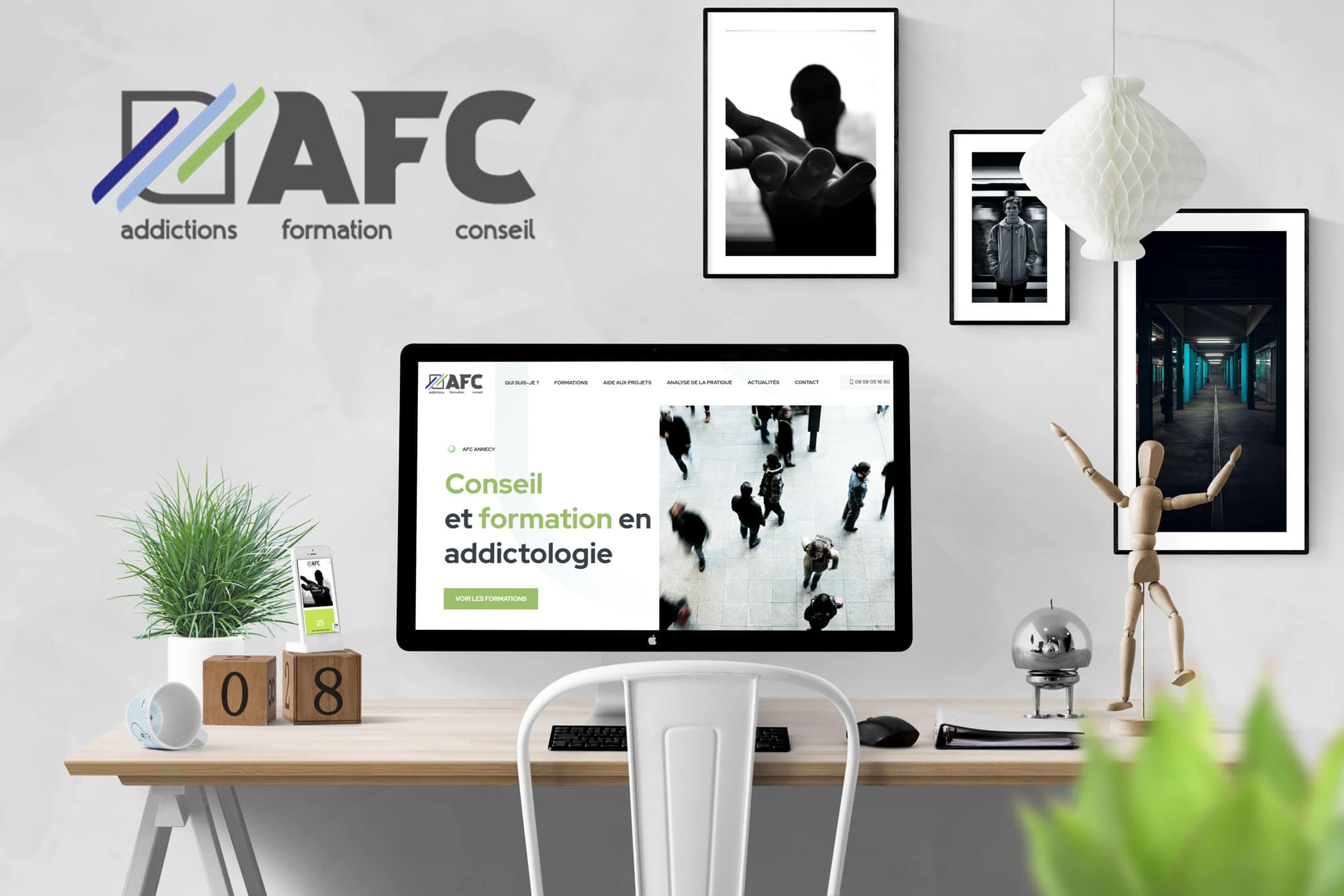 Réalisation site WordPress pour AFC