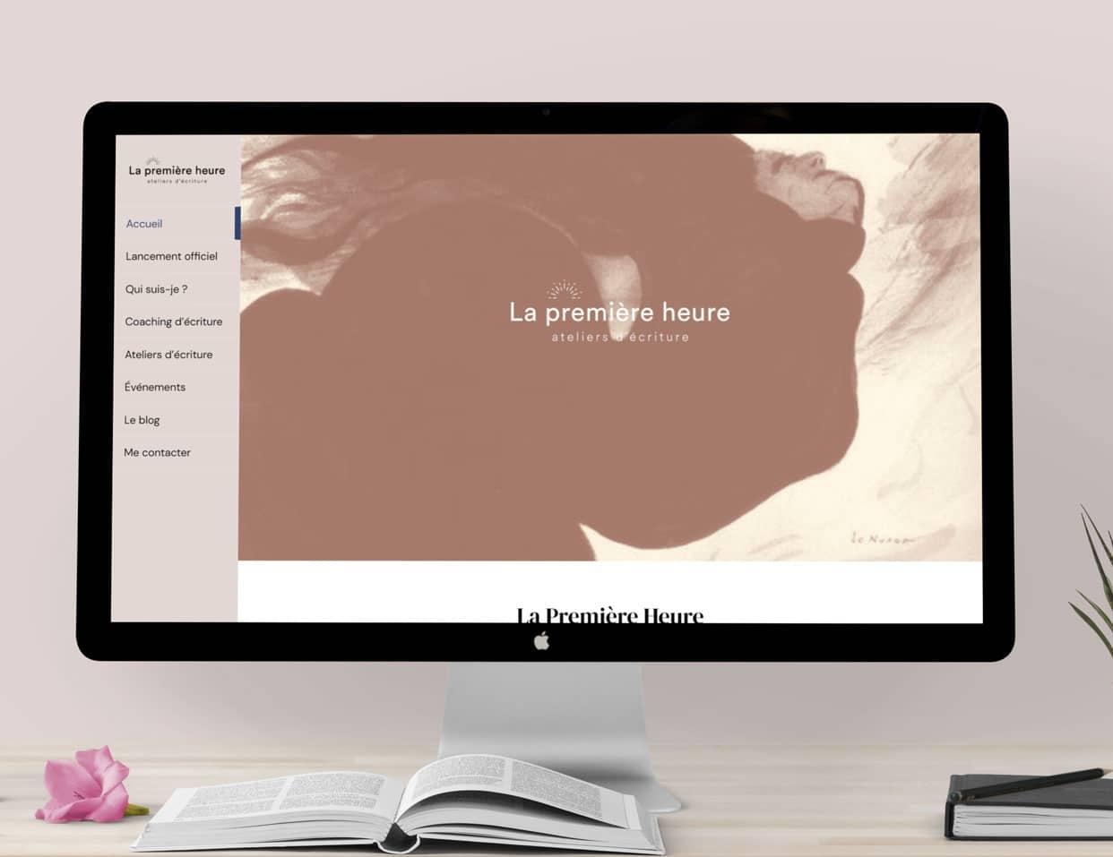 Site internet La Première Heure grand écran